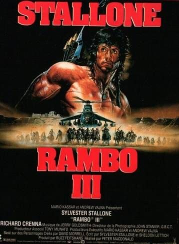 Review Bigger Than Life Rambo 3 Rambo Filmes De Acao Dublado