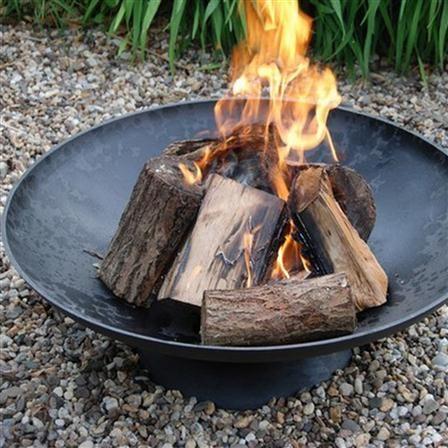 ACHICA | Fancy Flames Cast Iron Fire Bowl