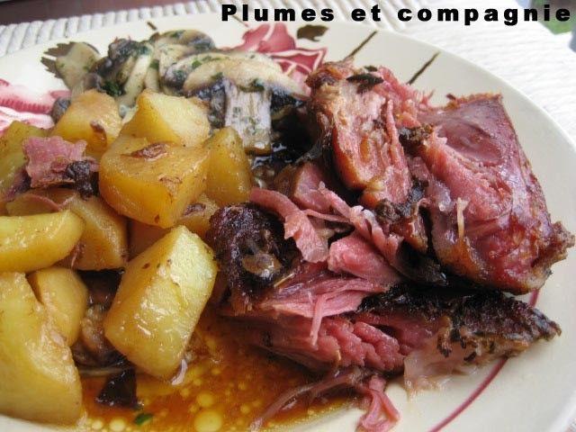 Ma préférée: Palette de porc demi sel rôtie au four