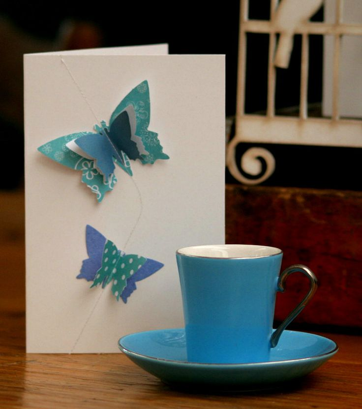 Layered Butterfly cards from Melrose & Co. (www.melroseandcompany.com)