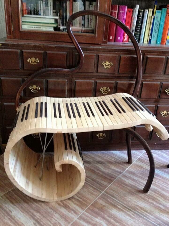 Music Piano Chair Decoration For The Piano In 2019