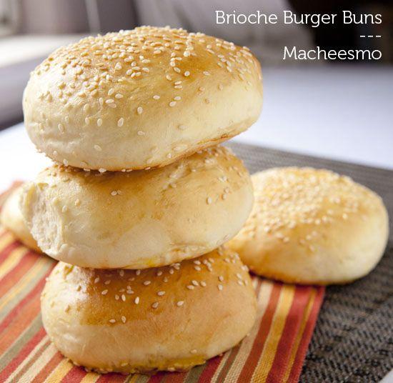 Homemade Brioche Buns | Recipe | Brioche, Burger Buns and Brioche Bun