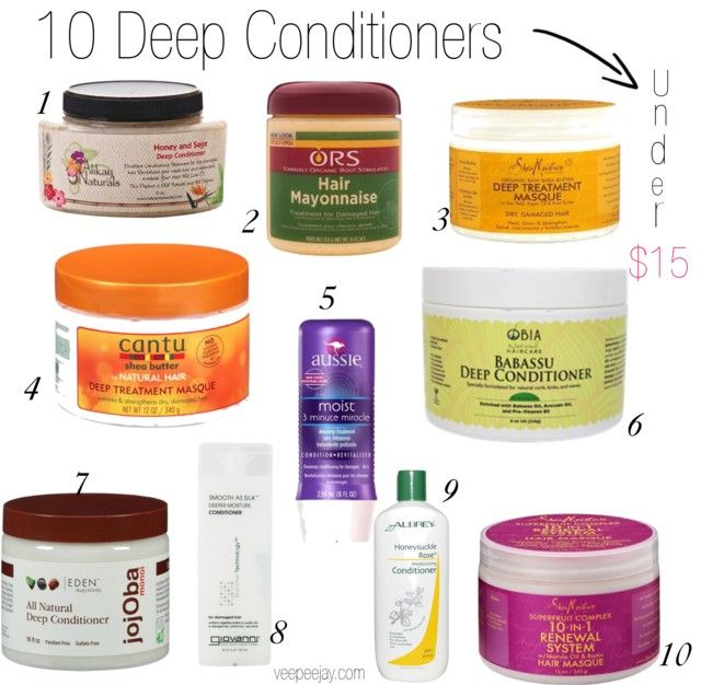 Natural Hair Conditioner For Relaxed Hair
