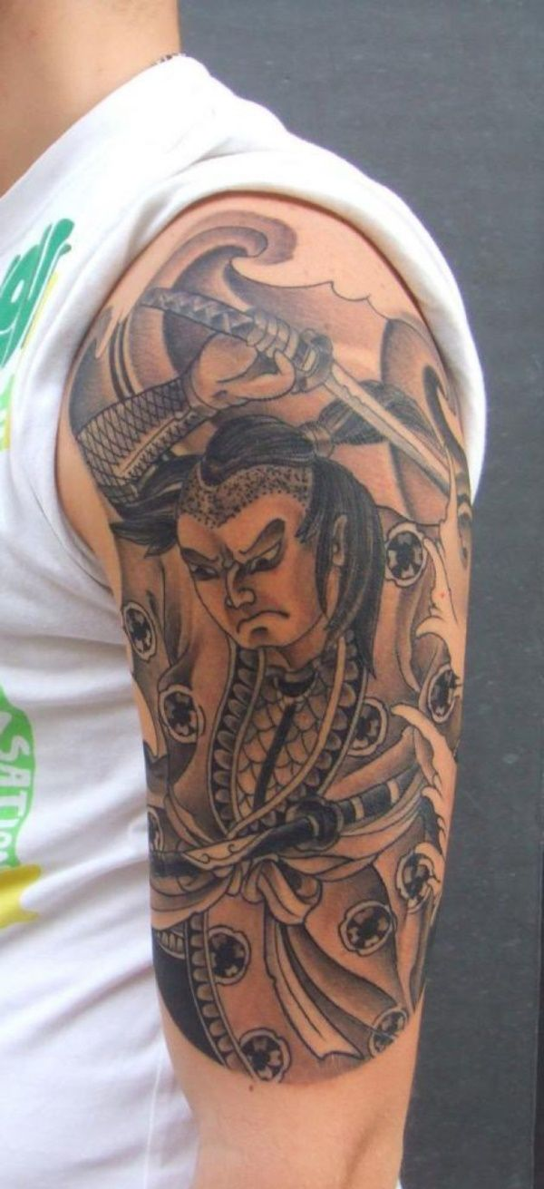 26 best death sleeve tattoos japanese images on pinterest for Cool japanese tattoos