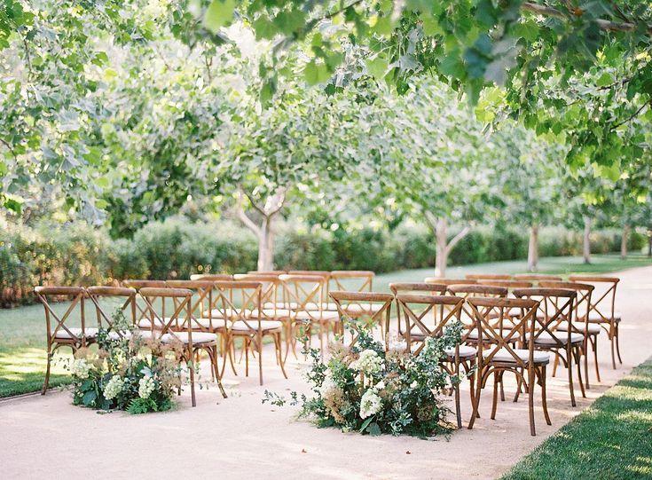 Soft Burgundy And Neutral Palette At Kestrel Park Garden Wedding Inspiration Outdoor Wedding Ceremony California Wedding Venues