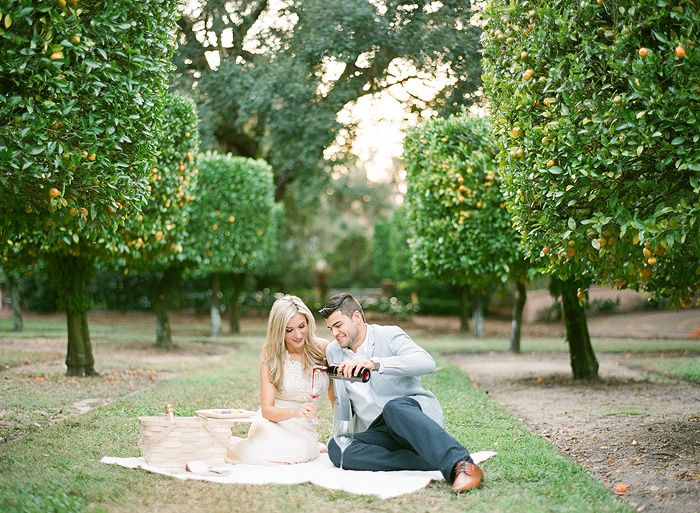 I WOULD Die to have an engagement session like this! Bok_Tower_Gardens_Engagement_Session6