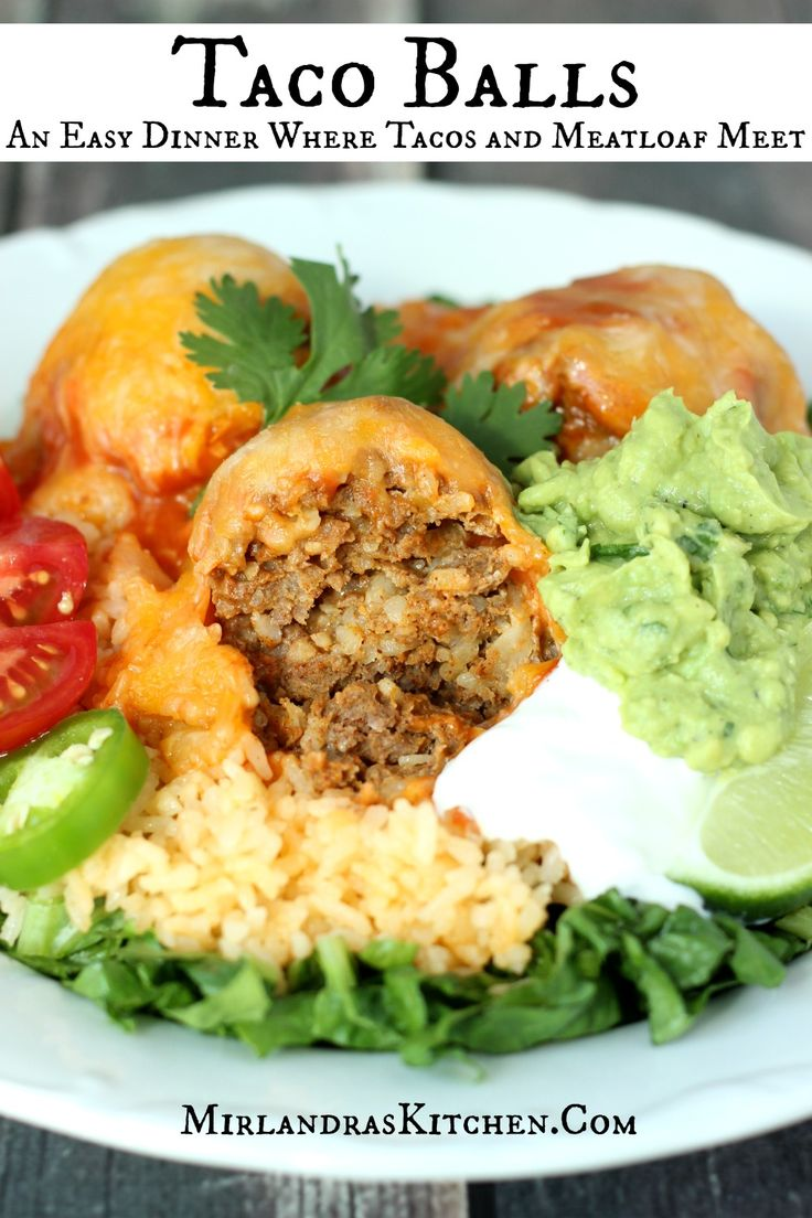 Taco Balls: An Easy Dinner Where Tacos and Meatloaf Meet