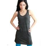 Christel Eco Heather Scoop Neck Tank Dress (Apparel)  #Tank Top