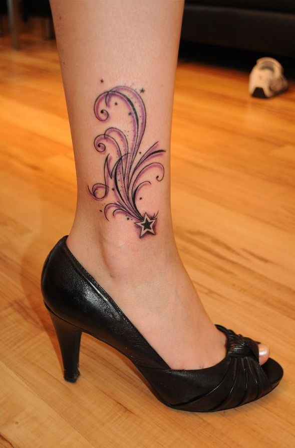Foot Tattoo Designs: Here are 10 foot tattoos for girls that you can try.