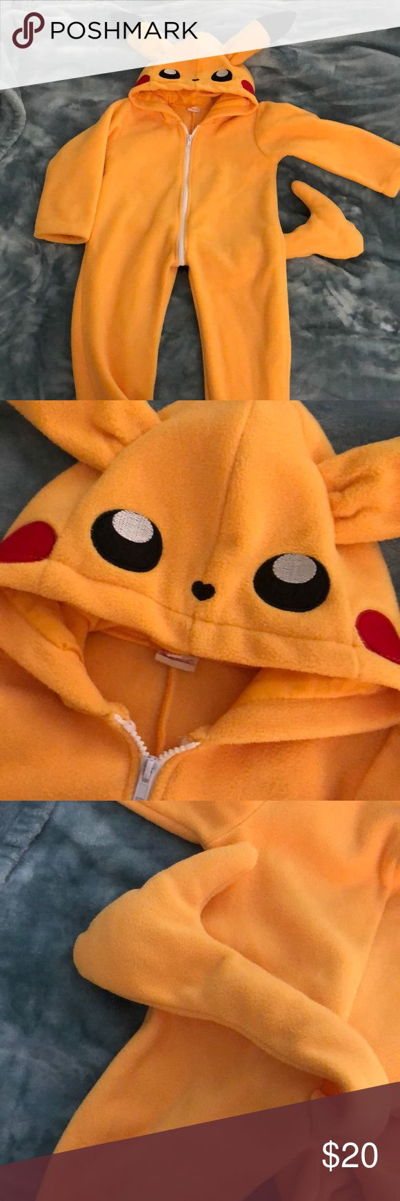 Pikachu costume Custom-made Pikachu costume. Very good ...