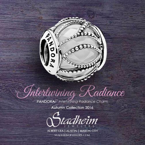 Pandora Intertwining Radiance Charm - Autumn Collection 2016