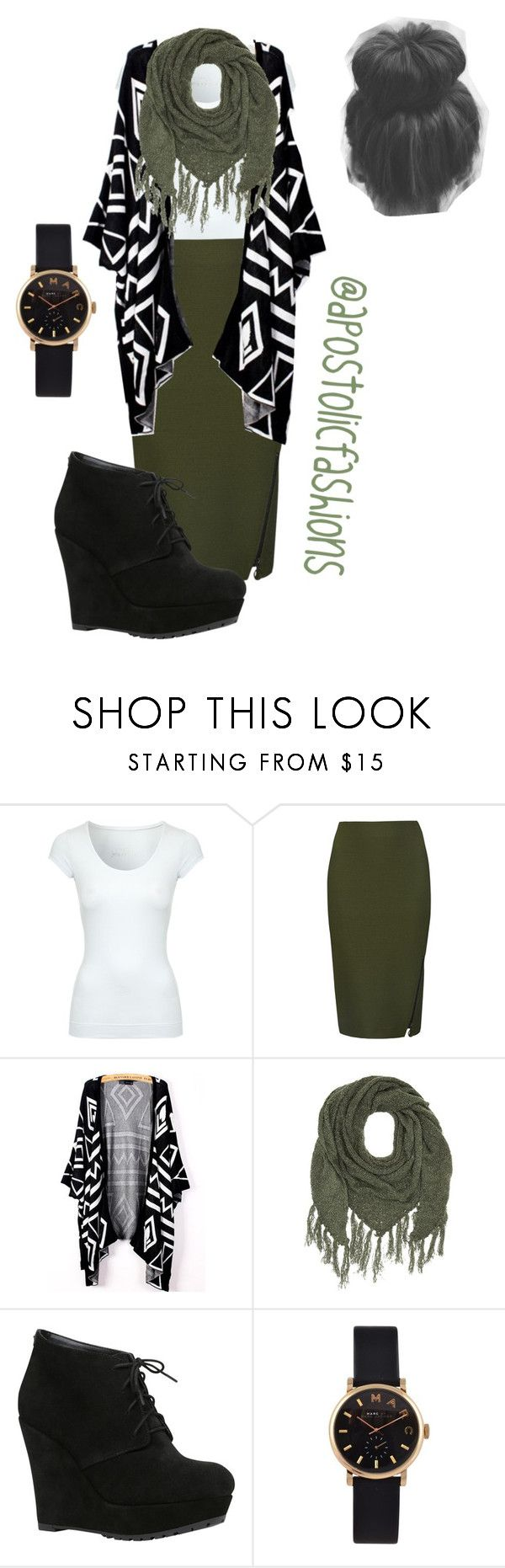 """""""Apostolic Fashions #962"""" by apostolicfashions on Polyvore featuring Jane Norman, M&S Collection, Charlotte Russe, ALDO and Marc by Marc Jacobs"""