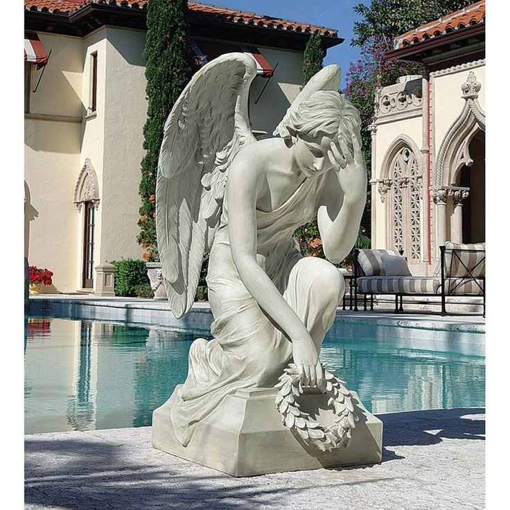 Divine Memories Angel Sculptural Monument