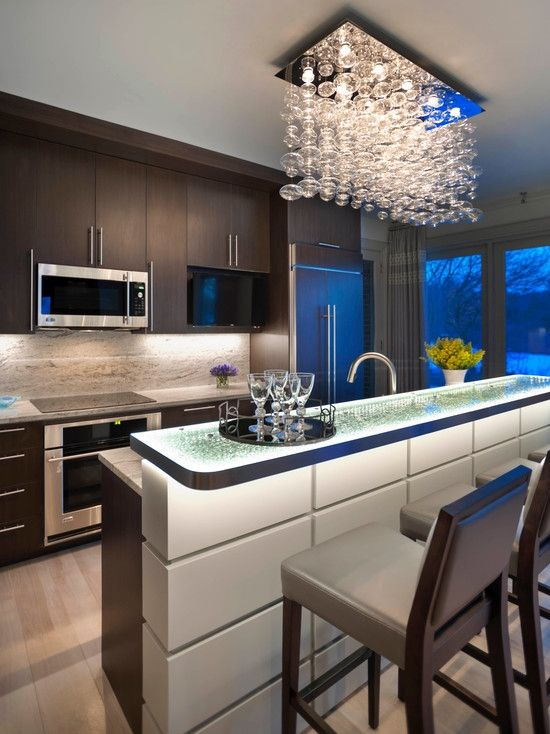 258 best Kitchen Lighting images on Pinterest | Contemporary unit ...
