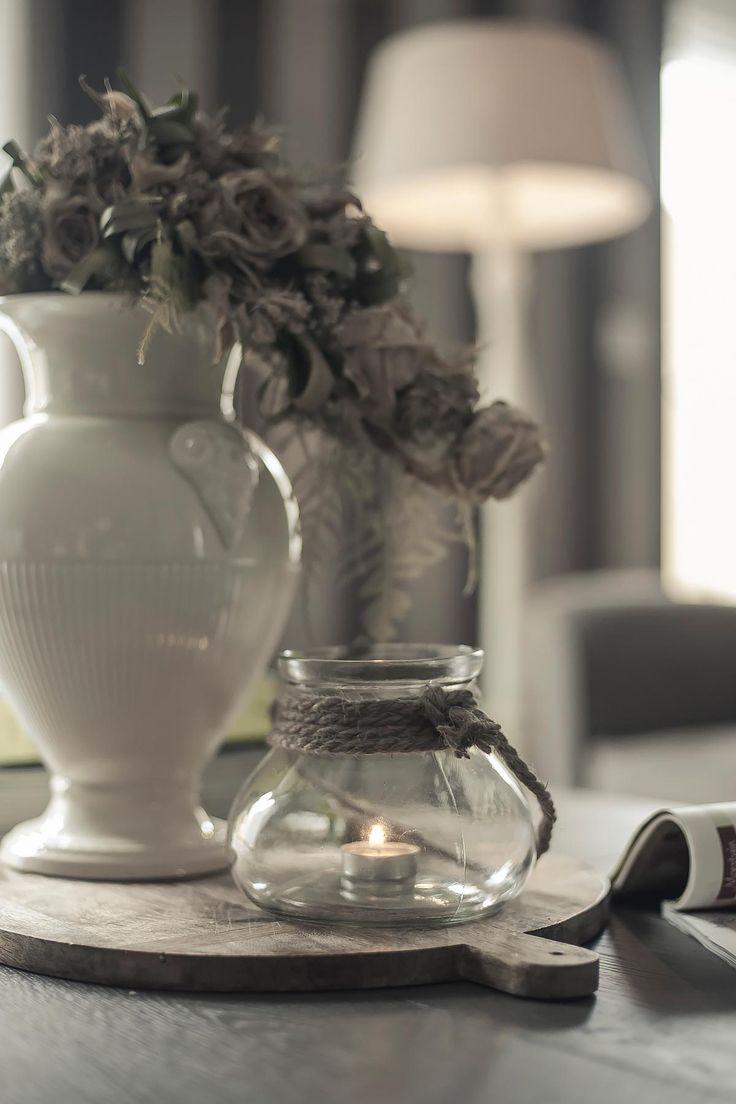 windlicht glas met touw | www.twoonhuis.nl