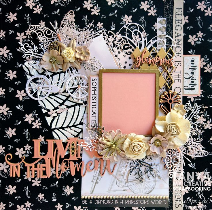 Single-layout by Tanya Cloete using the Diamond Layne Range.