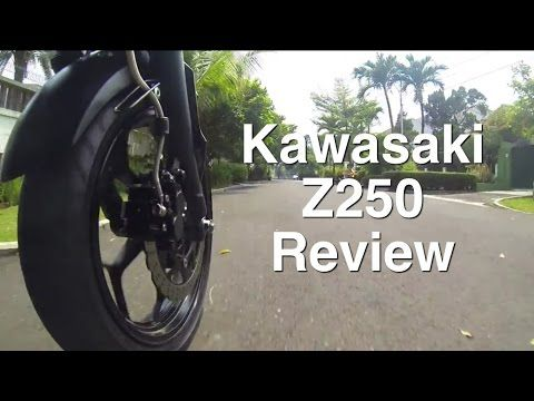 Kawasaki Z250 - Review - YouTube
