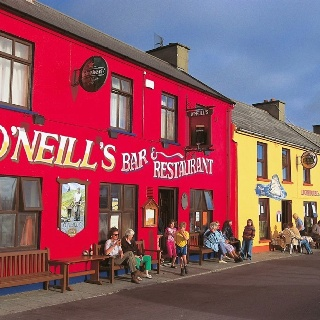 Boris, County Carlow, Ireland.  My O'Neill line came from County Carlow.  Wonder if I'm related to this pub?!!