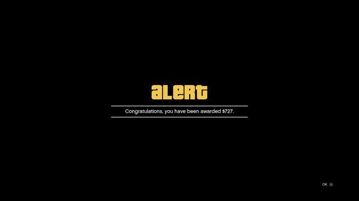 Glad I signed onto GTAV for the $425000 promised by Rockstar. /s