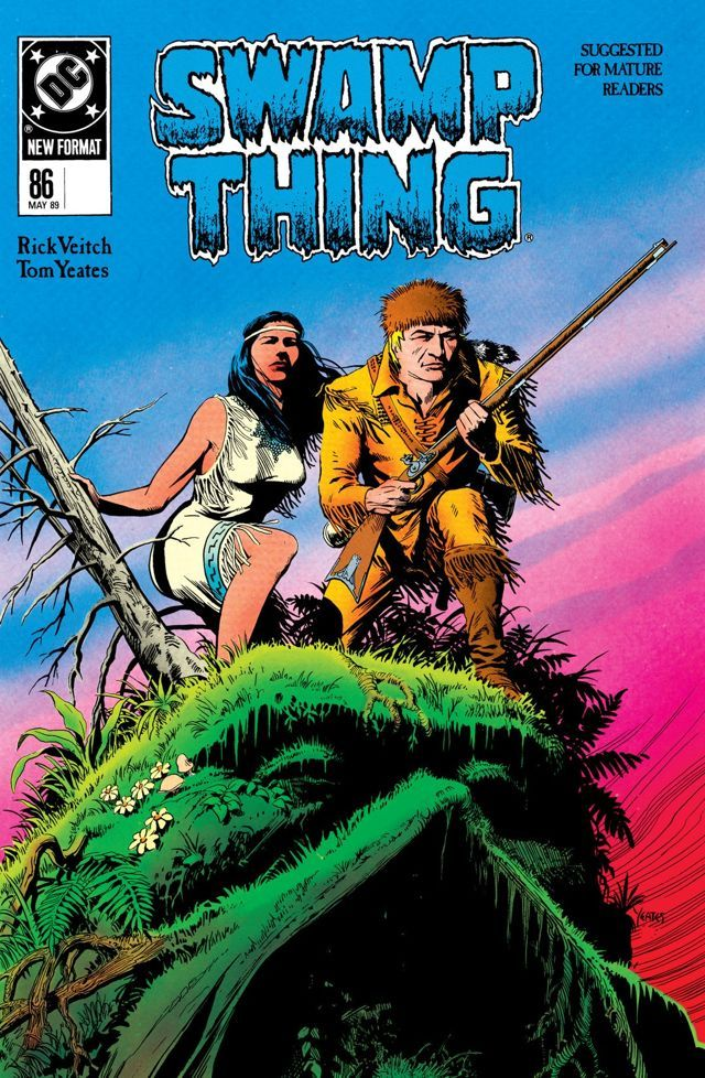 Swamp Thing (1982-1996) #86 Swamp Thing's journey through time continues as he encounters Tomahawk and other heroes from the American Revolution!