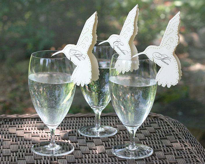 Siluetas de papel colibri compra aqu - Ideas super originales para bodas ...