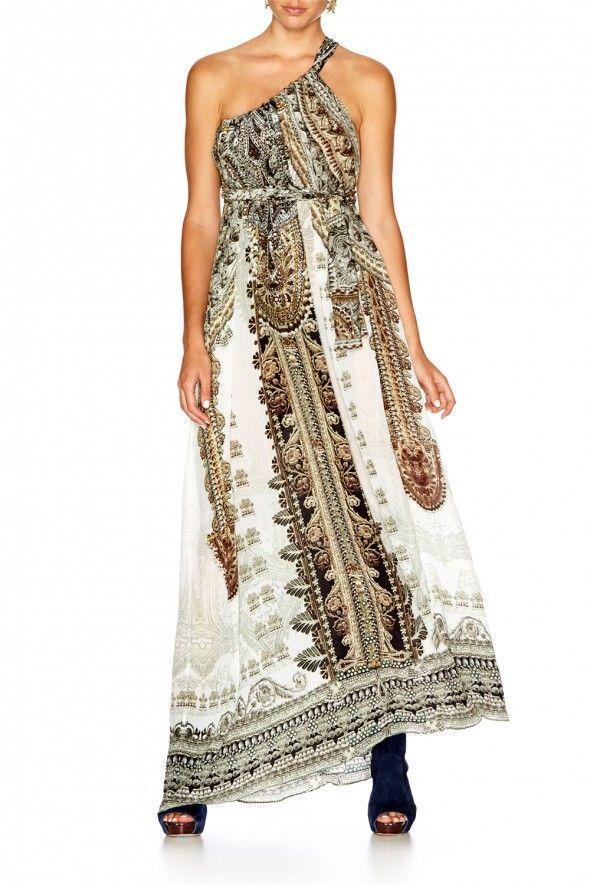 Camilla - COATS OF LIGHT DRAWSTRING DRESS