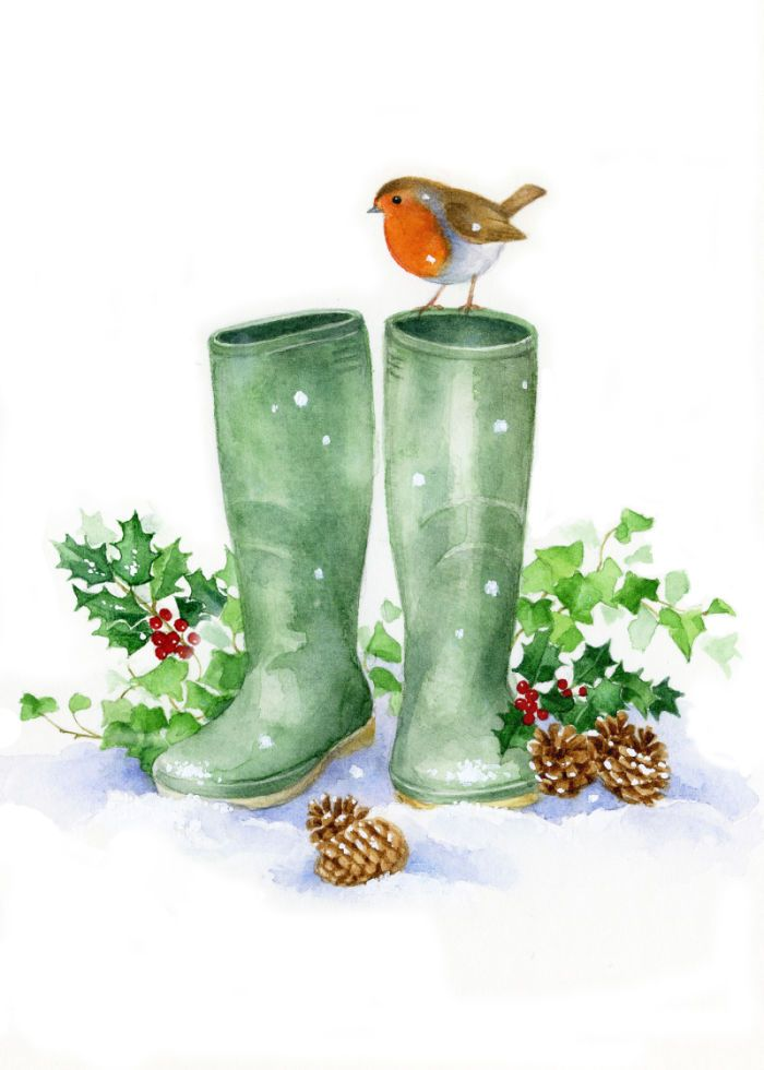 Lisa Alderson - LA - Robin And Wellies Copy