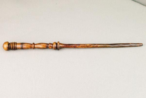 14 1 2 Inch Pear Real Wood Wand Handmade Unique Wooden Wand Wands Pear Wood