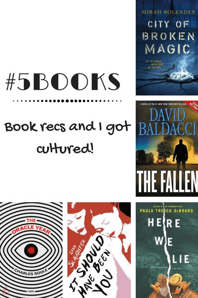 #5Books: A world where magic has been eaten away, and only humans can save the day? Yes please! Plus there's Here we Lie, The Fallen. It should have been you, The Oracle Year. Read about them here: http://editingeverything.com/blog/2018/02/05/5books-book-recs-museum/