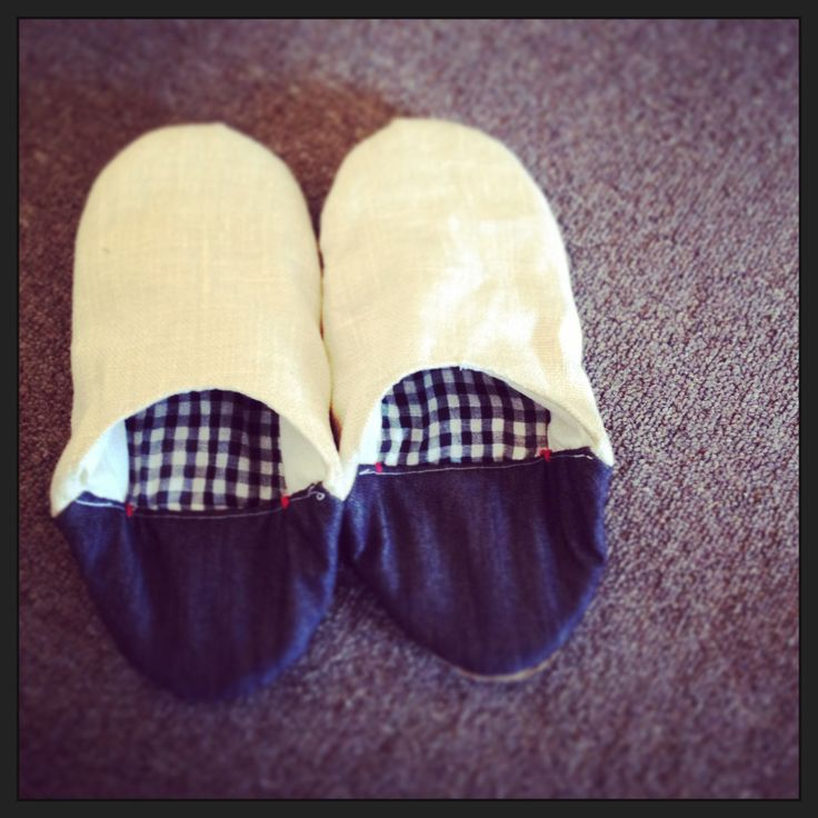 A pair of slipper