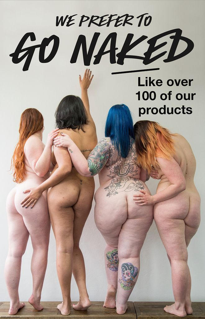 This Body-Positive Advertisement For Lush Cosmetics Was Reported As…