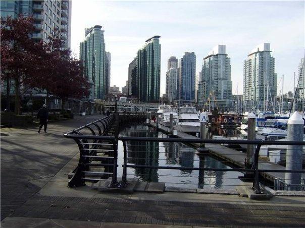 Marina - Vancouver BC - photograph taken by Rosalia Marie