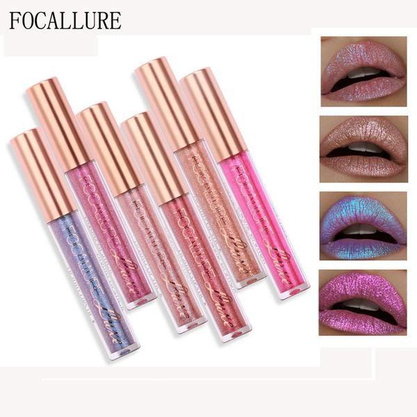 FOCALLURE Glitter Lip Gloss