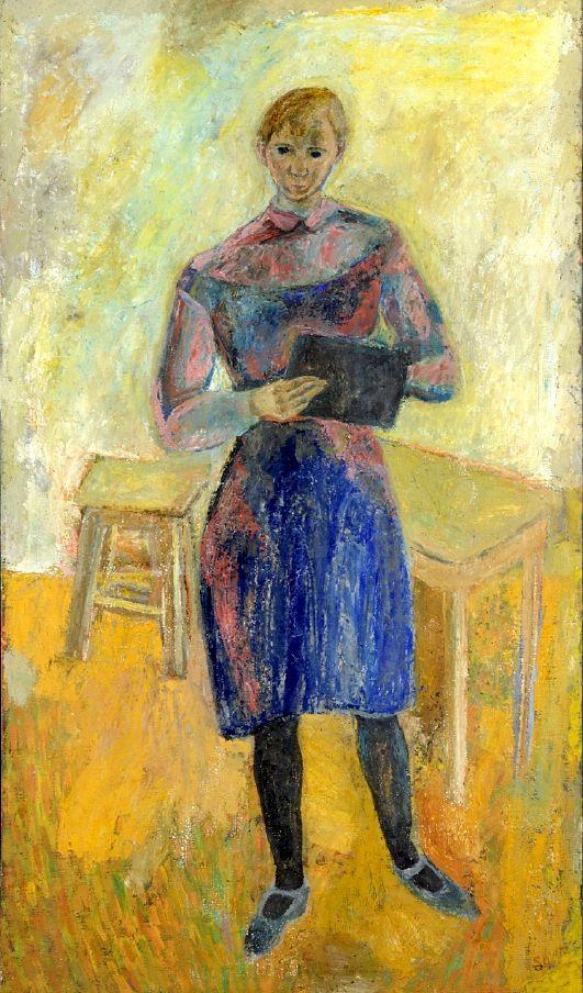 bofransson: Siri Derkert (Sweden, 1888 - 1973) Self Portrait