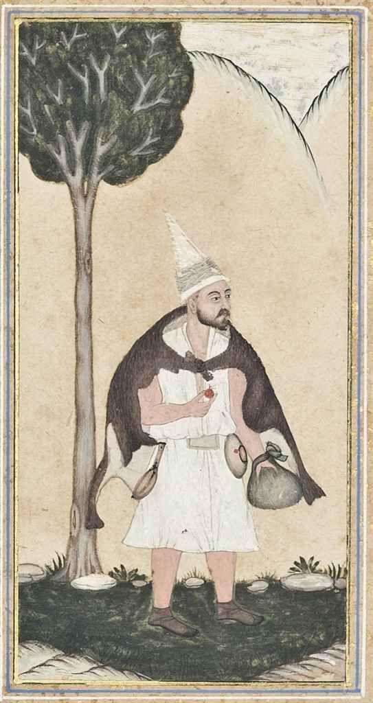A Wandering Dervish Qajar Iran, 19th Century