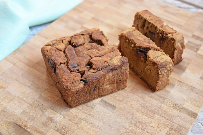 Chocolade courgette brood - Karlijnskitchen.com
