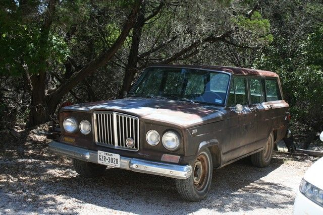 SJ (1963-1991) United States Classifieds - Craigslist Posts & eBay Ads |  1964 Jeep Wagoneer J-100 w/ Chevy 350 Engine For Sale in Wimberley, Texas.