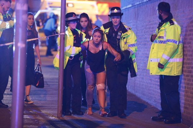 Manchester Arena explosion: 19 dead and 50 injured at Ariana Grande gig as police treat blast as possible terror attack │Hundreds of people fled the arena screaming, many covered in blood, after hearing 'loud bangs' just as the lights went up at around 10.40pm tonight