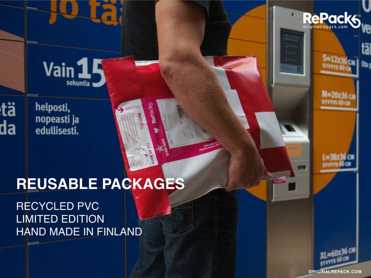 Reusable ecommerce packaging from Finland.