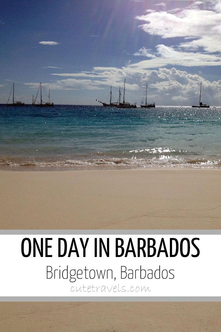 One day in Harrison's Cave and Bridgetown, Barbados