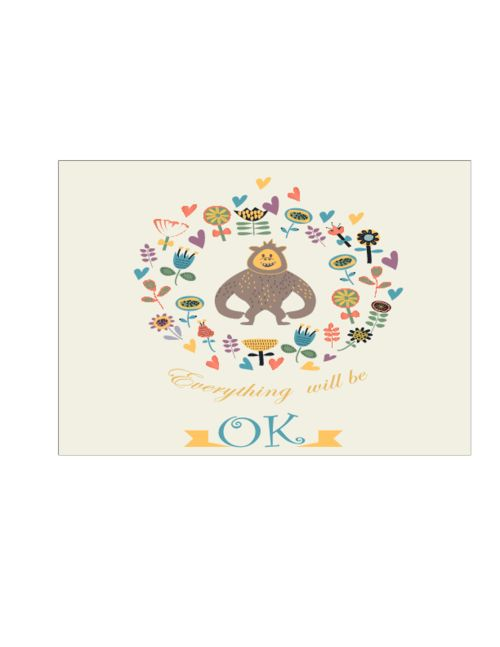 Cards for Kids #1   #Sympathy #card #care #printable #free