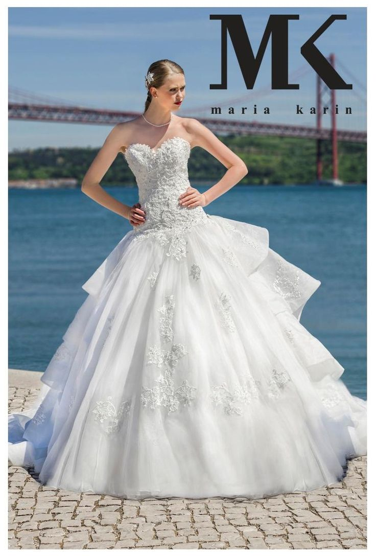 An unique dress for an unique bride, you! #MariaKarin