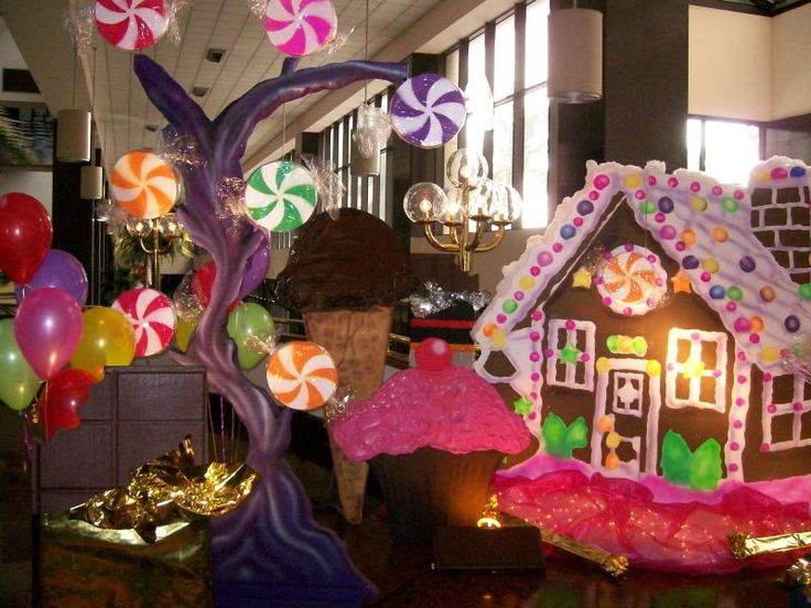 Best candy theme decorations ideas on pinterest