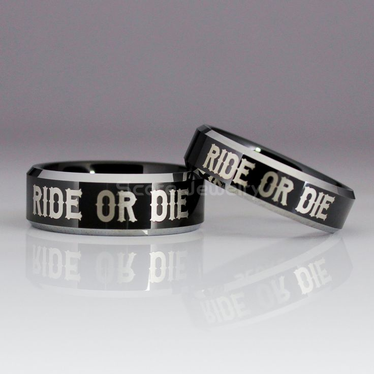 64 best couple ring sets images on pinterest couple for Ride or die jewelry