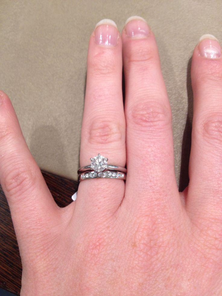Engagement And Wedding Band Combo