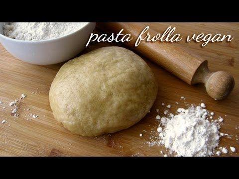 ▶ Pasta frolla vegan (senza uova, senza latte, senza burro)... ma allora con cosa è fatta ;-P - YouTube