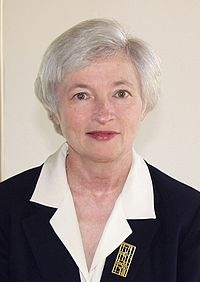 Janet Louise Yellen current Vice Chair of the Board of Governors of the Federal Reserve System, and a Haas Faculty member since 1980.