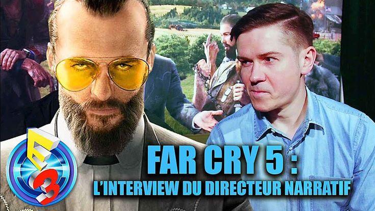farcry5gamer.comFAR CRY 5 : on vous dit TOUT sur le jeu ! - Interview Découvez notre interview de Jean-Sébastien Décan, le Directeur Narratif du très attendu Far Cry 5 !  FAR CRY 5 : on vous dit TOUT sur le jeu ! - Interview Date de sortie : 21 Février 2018 sur PS4, Xbox One et PC © 2017 - Ubisoft  Abonne-toi à la chaîne Youtube ici ➜http://farcry5gamer.com/far-cry-5-on-vous-dit-tout-sur-le-jeu-interview/