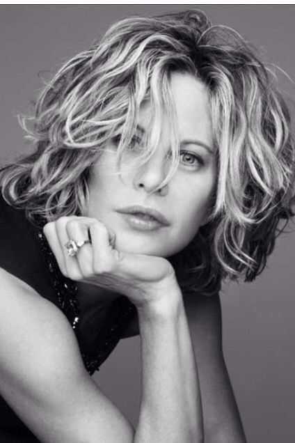 Have always loved Meg Ryan's hair.