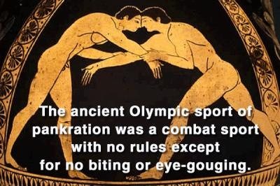 Historical Olympic fact. For more Olympic facts please visit: http://www.readersdigest.com.au/21-olympic-facts